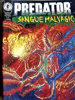 PREDATOR Sangue Malvagio #1 1994 Play press G111A-1