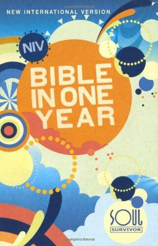 NIV Soul Survivor Bible in One Year,Ibs Uk International Bible Society