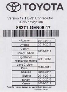 2013 toyota prius gps update