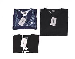Lot De 3 X Gymshark Femme Gym Entraînement T-Shirt TAILLE S, Neuve