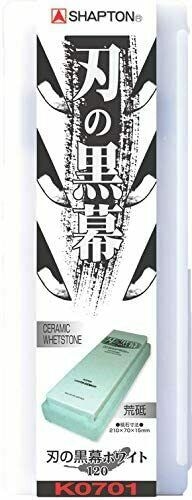 SHAPTON Ha No Kuromaku Ceramic Whetstone  #120-#30000 New MADE IN JAPAN w//T