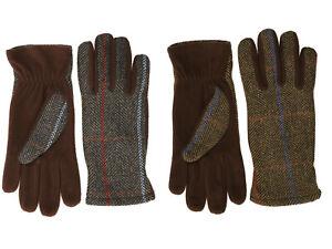 Femmes Laine Tweed Gants Luxe Hiver Chaud Confortable 2 Couleurs 2 Tailles
