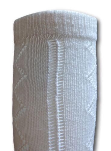 Majorettes Uniform Knee Socks Adult Size Cheerleader White Pelerine School