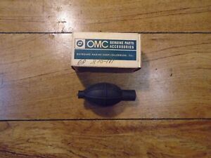 553164 NEW OMC OUTBOARD MARINE CORP BOAT PRIMER BULB PART NO
