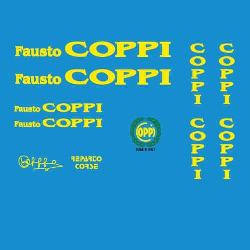 Stickers n.235 Coppi Bicycle Decals