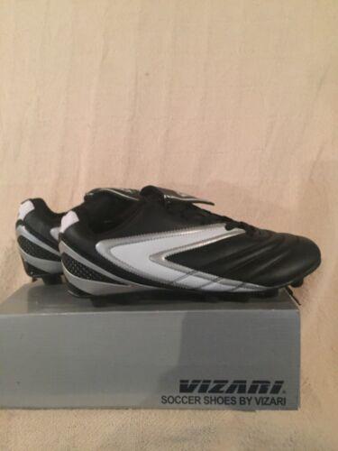 New in Box Vizari Adulte Verona Noir//Blanc Football Crampons #93245