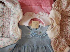 34e8fabc45a03 Image is loading BABY-TODDLER-GIRLS-SMOCKED-DRESS-SETS-HANDMADE-AUSTRALIAN-