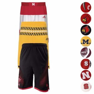NCAA-Official-Team-Replica-Basketball-Shorts-Collection-Adidas-Youth-Size-S-XL