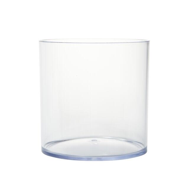 Oasis Clear Acrylic Vase 145 X 15cm Ebay