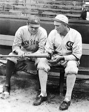 New York Yankees BABE RUTH Chicago White Sox JOE JACKSON Glossy 8x10 Photo Print