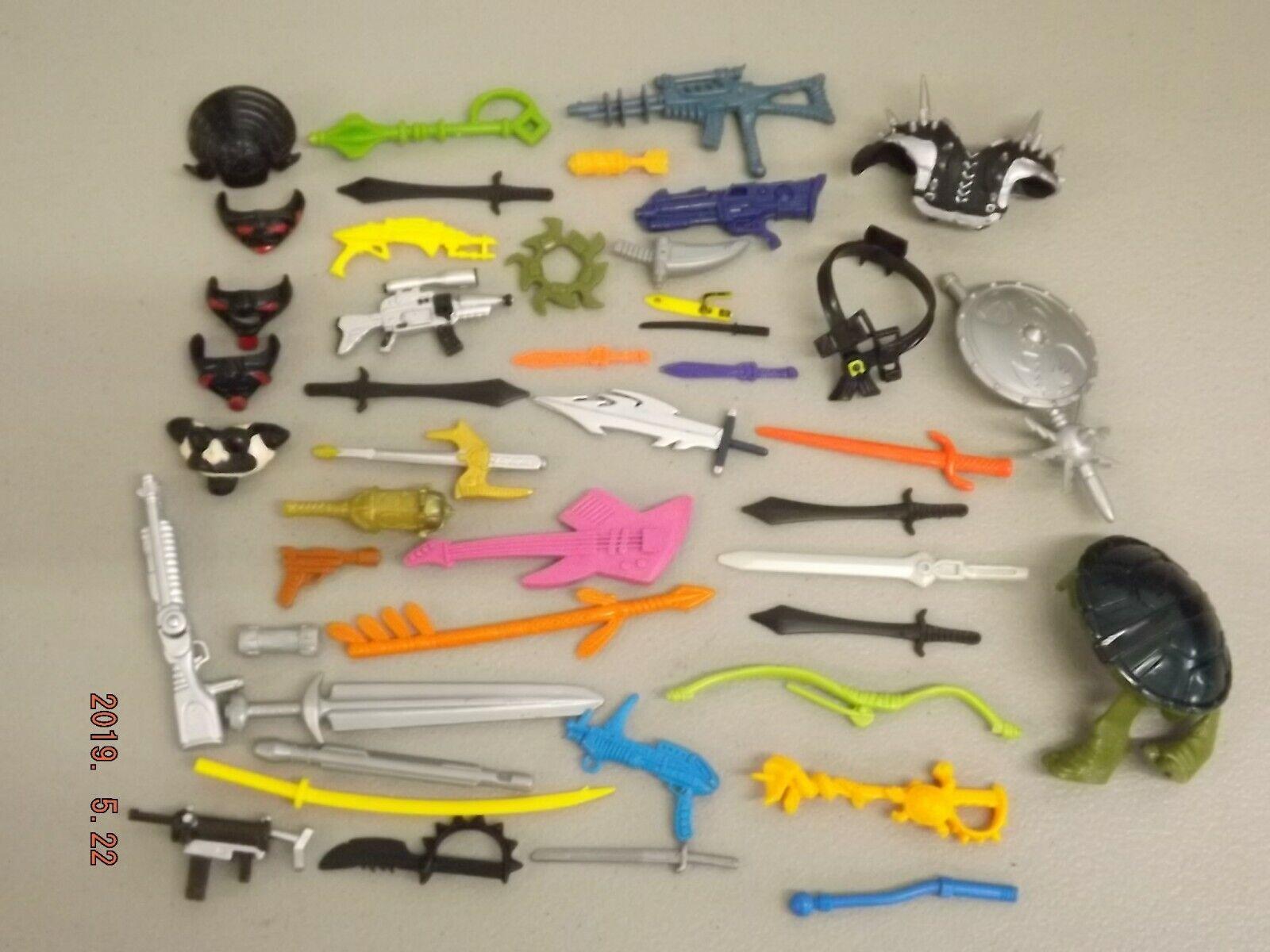 Vintage Teenage Mutant Ninja Turtles Armes & accessoires Lot Teenage Mutant Ninja Turtles