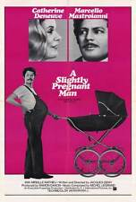 A SLIGHTLY PREGNANT MAN Movie POSTER 27x40 Catherine Deneuve Marcello