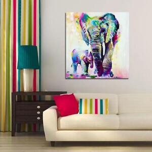 Watercolor-Animal-Painting-Poster-Picture-Wall-Home-Art-Decor-BT3