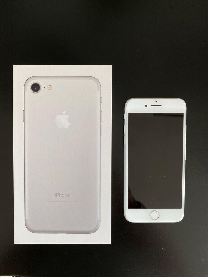iPhone 7, 32 GB, hvid