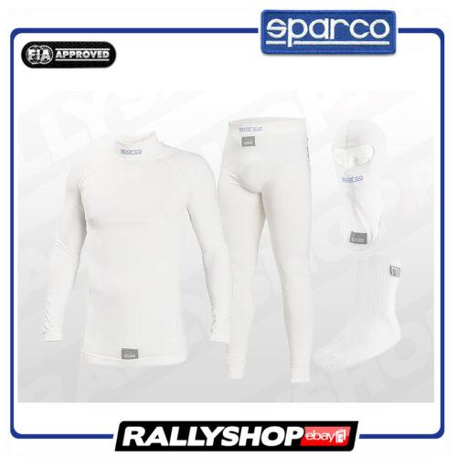 FIA SPARCO UNDERWEAR SET RW-6 Size L Large Shirt Pants Balaclava Socks Sport