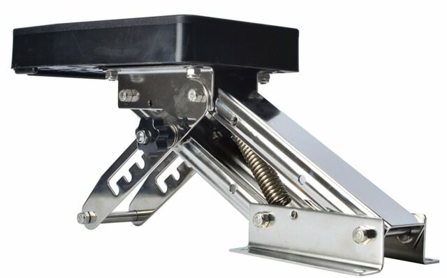 【New】Marine Boat Motor Bracket Kicker Outboard-Auxilary Trolling Mount 25hp