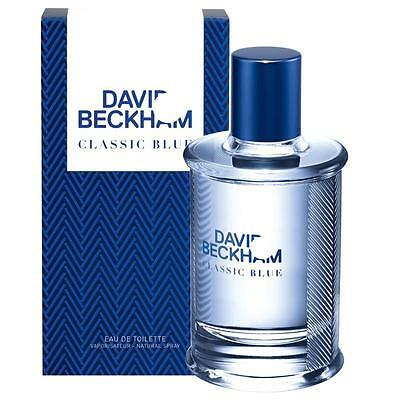 DAVID BECKHAM CLASSIC BLUE 90ML EAU DE TOILETTE SPRAY BRAND NEW & SEALED*
