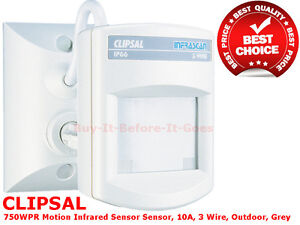 Clipsal Motion Security Sensor Infrascan 3 Wire Passive