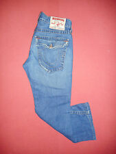True Religion JOEY 803 - Mens Blue Denim Jeans - Waist 32 Leg 28 - K849