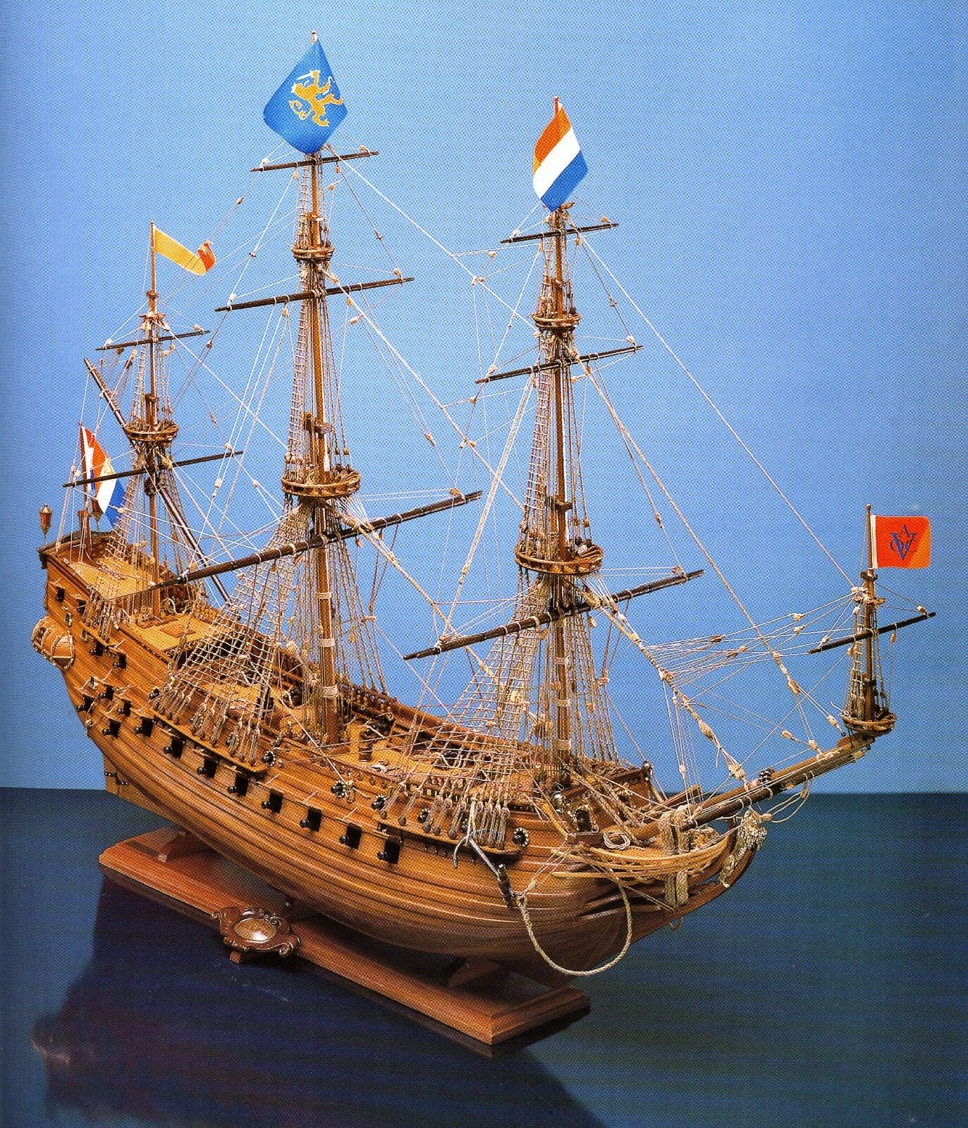 COREL SM40 BARCA Modello Nave commerciale VASCELLO olandese PRINS WILLEM 1 100