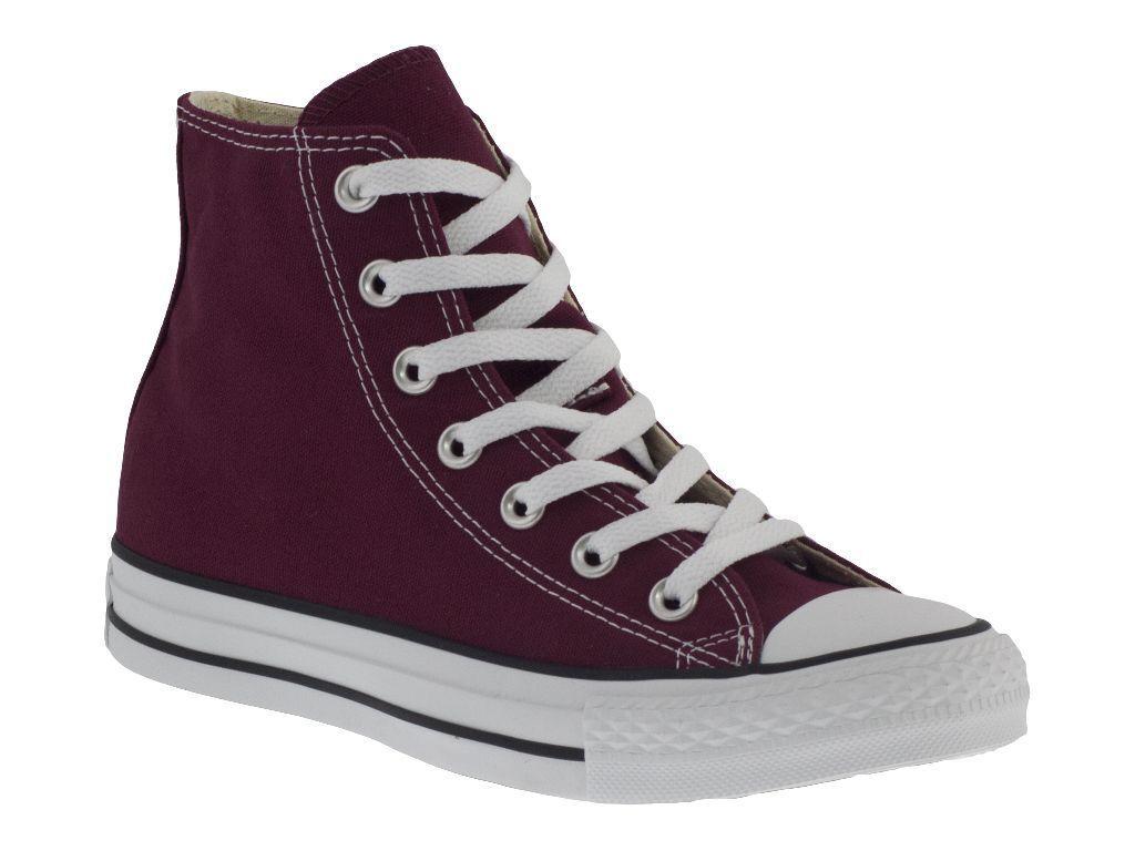 CONVERSE ALL STAR HI rouge BORDEAUX chaussures ALTE TELA hommes femmes