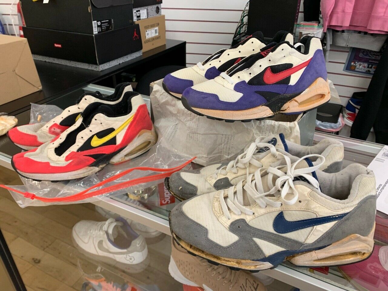 Lot Vintage Nike Air Max Tailwind 1992 original 1 off white 9 10 DS anniversary