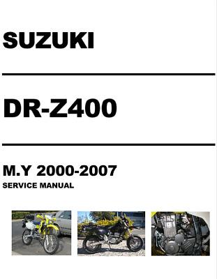 DRZ400 DRZ 400 Service Workshop Manual+ Best Mods - ebook | eBay