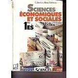 Geledan-Sciences-economiques-et-sociales-1re-E-S-Livre-de-l-039-eleve-1994