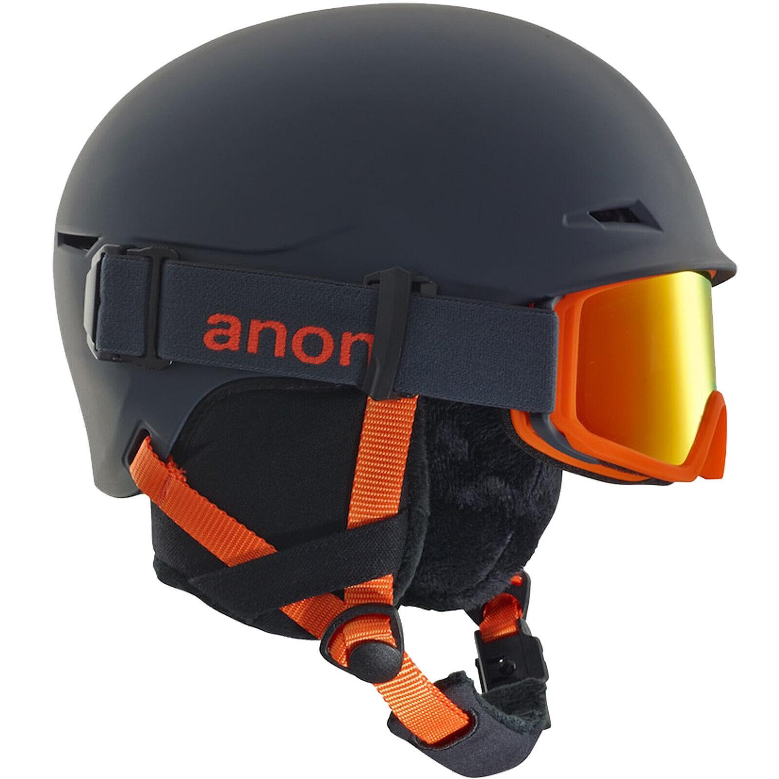 Anon Define Helm + Skibrille Kinderhelm Snowboardhelm Kinder-Skihelm Wintersport
