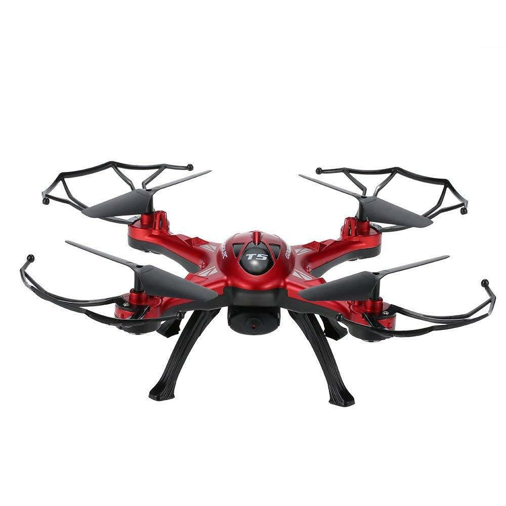 GoolRC T5w RC Quadcopter One One One Key Return CF Mode 360° Wi-fi 2.4GHz 6-axis Gyro 287633