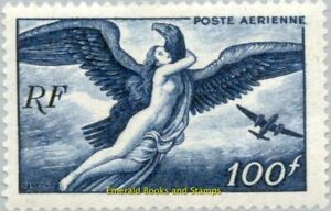 EBS-France-1947-Airmail-Aegina-abducted-by-Zeus-YT-PA18-MNH
