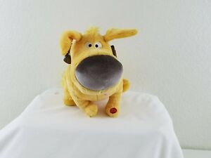 12 Disney Store Dug Up Movie Talking Puppy Dog Yellow Stuffed