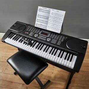 zennox electric keyboard digital music piano 61 keys instrument microphone new ebay. Black Bedroom Furniture Sets. Home Design Ideas