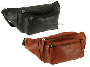 d69655d5f23d Image is loading Visconti-Unisex-Leather-Bumbag-Travel-Waist-Pack-Hip-