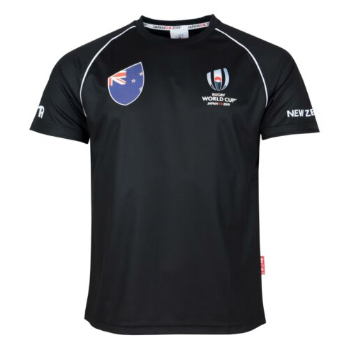 Rugby World Cup 2019 Men/'s T-ShirtPolyesterNew Zealand