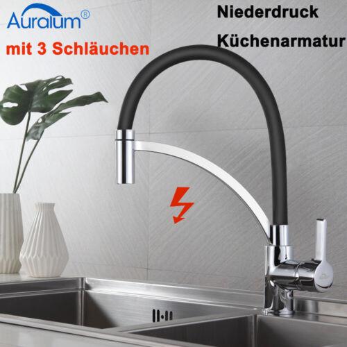 Niederdruck Küchenarmatur Wasserhahn Spültischarmatur Einhand Mischbatterie
