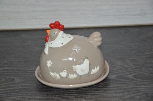 Assiette en porcelaine beurre cloche Beurre Avec Hanne 14x11,5cm