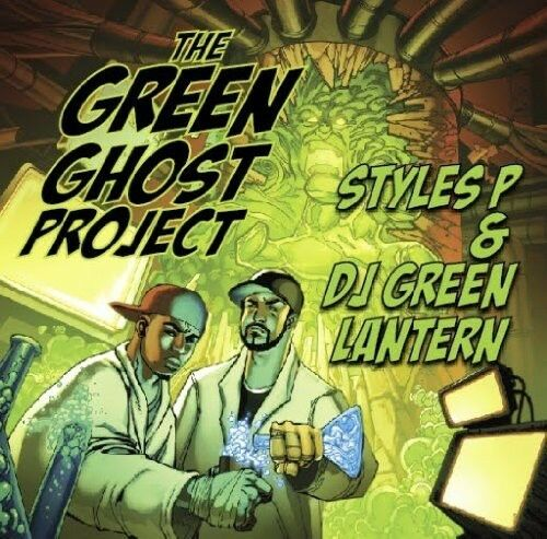Styles P, Styles P & DJ Green Lantern - Green Ghost Project [New CD] Explicit