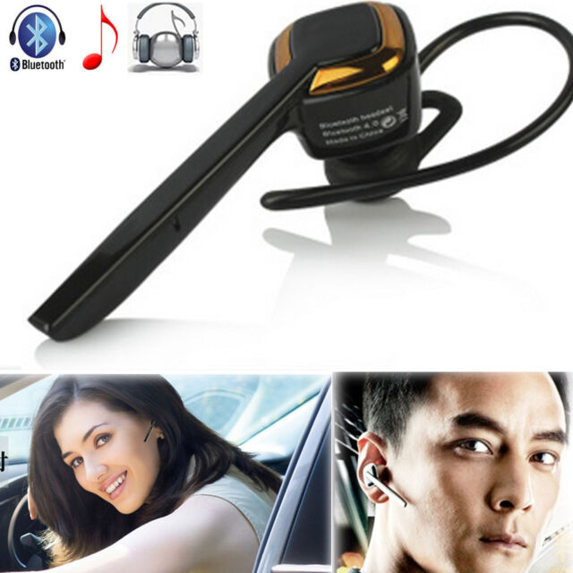 Wireless Stereo Bluetooth Headset HD Earphone With Mic Earpiece For Cellphone PC