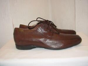 Heyraud Chaussures 12 Détails Sur Homme 40 Marron Cuir P dxoWreCB