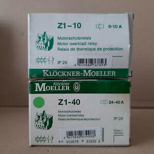 Kloeckner-Moeller-Motorschutzrelais-Z1-10-6-10A-Z1-40-24-40A