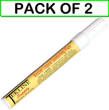2 Pack Kester Type 186 Soldering Flux Pen Pak Tekline 12ml Rosin Low Solids