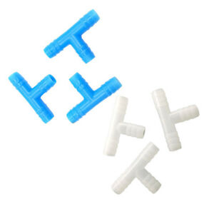 100-Pcs-8mm-Barbed-Hose-Tee-Connector-Gardening-Fittings-Irrigation-Tool-Plastic