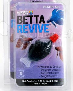 Betta revive fish medication treatment cure various for Betta fish medicine
