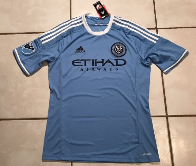41bb7d39e52 NWT ADIDAS New York City FC 2015/2016 MLS Home Soccer Jersey Men's Small