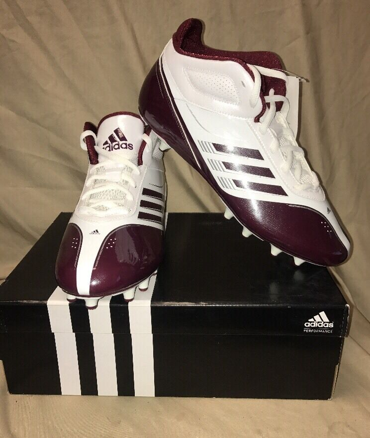 0b8b07a88 NEW Adidas AS Supercharge Mid Fly Mens Football G66234 SMU Cleats  npueox8338-Men