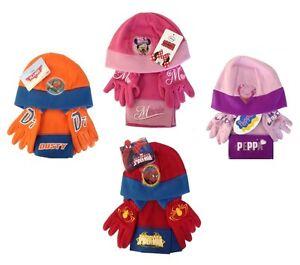 ac8a990790c Image is loading CHILDRENS-DISNEY-HAT-SCARF-GLOVES-SET-PEPPA-PIG-