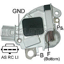 MOB 12V REGULATOR TO FIT FIAT MARELLI DELCO FORD FOCUS KA ALTERNATOR VR-F156