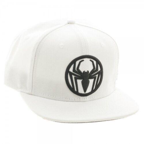OFFICIAL MARVEL COMICS ULTIMATE SPIDER-MAN SYMBOL BLACK /& WHITE SNAPBACK CAP