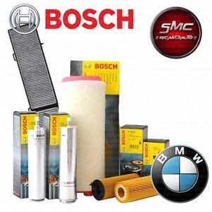 Inspektionskit-Filterset-4-filtros-OEM-Bosch-bmw-330d-e90-170-kw-2005-hasta-2015